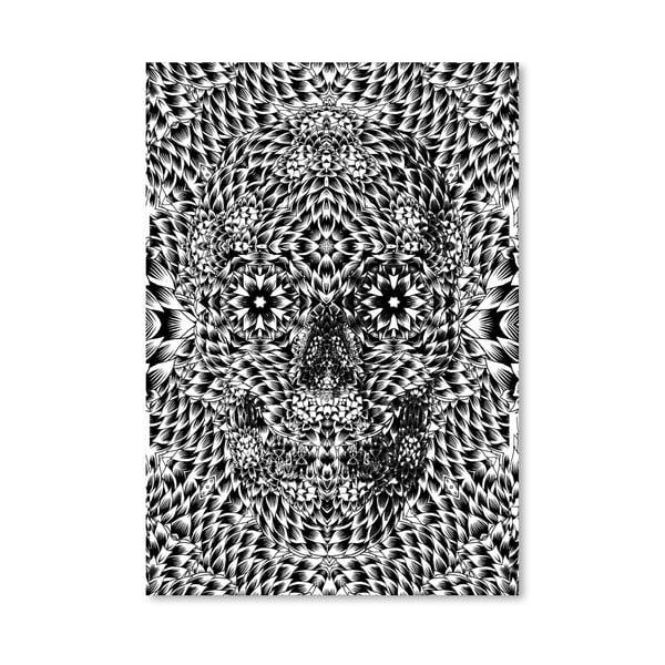 """Plakat autorski """"Skull Seven"""""""