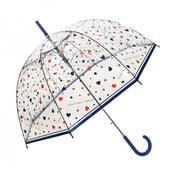 Przezroczysty parasol Susino Hearts