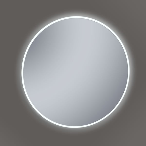 Lustro z oświetleniem LED Metro, Ø60 cm