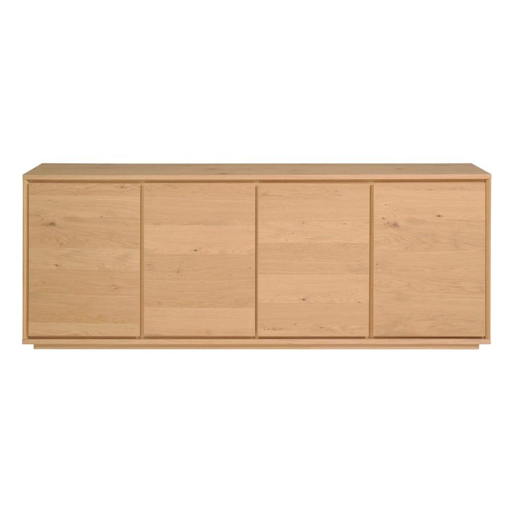 Komoda drewniana z 4 drzwiczkami Artemob Stockholm