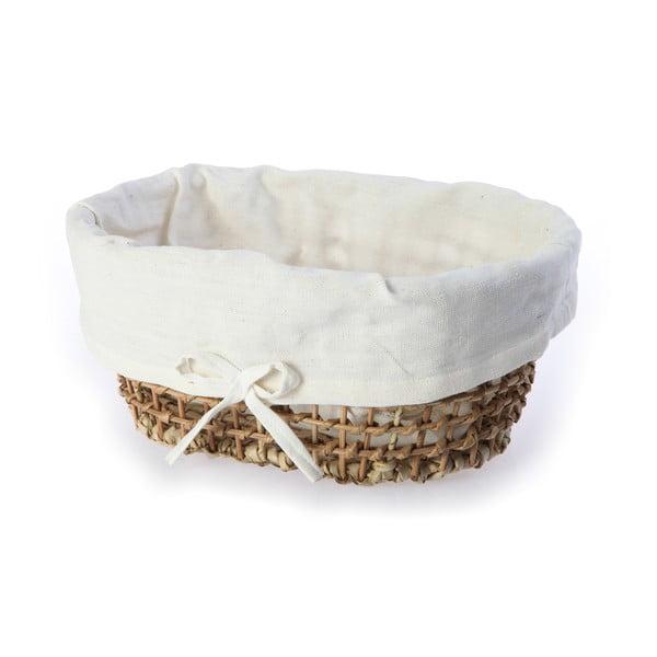 Wiklinowy koszyk Oval Basket, 46 cm