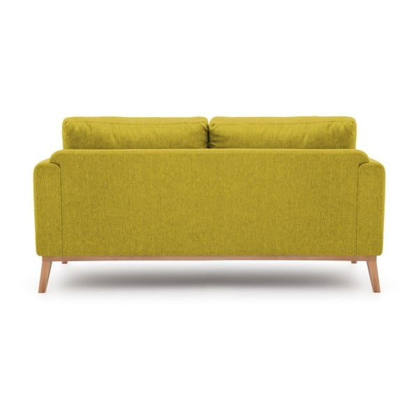 Zielona sofa 3-osobowa Vivonita Milton