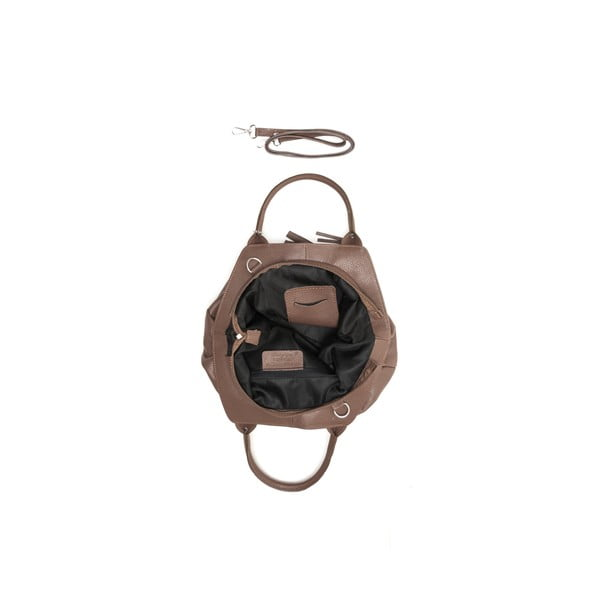 Skórzana torebka Taken 1076 Fango