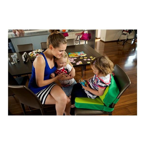 Jaskrawozielona poduszka na krzesło Tuli ChildUp