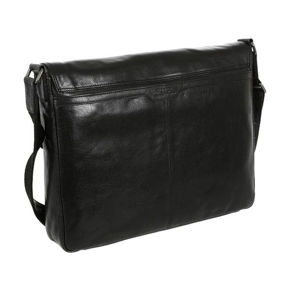 Męska torba skórzana Baker Black