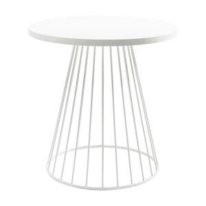Biały stolik Kare Design Bistro Wire