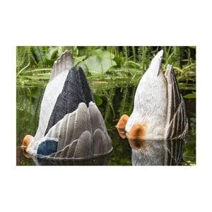 Zestaw 2 dekoracji ogrodowych Boltze Duck Tail