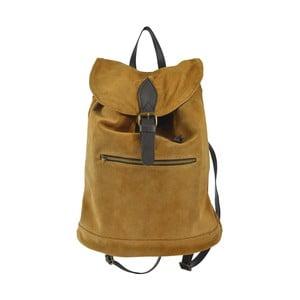 Karmelowy plecak skórzany Inna