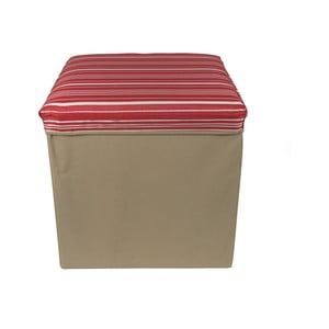 Pudełko składane Tri-Coastal Design Red Stripes