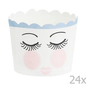Zestaw 24 papilotek na muffiny Miss Étoile Eyes