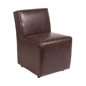 Krzesło Seduta, brązowe
