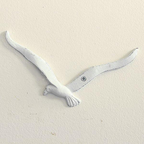 Biała dekoracja wisząca Dakls Mewa