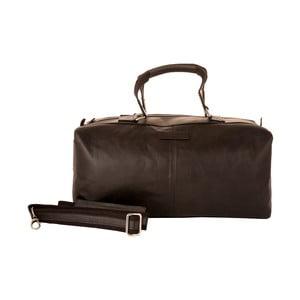 Męska torba podróżna Vintage Black