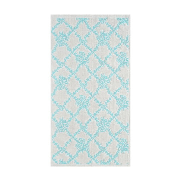 Niebieski wytrzymały dywan Scarlett, 60x90 cm