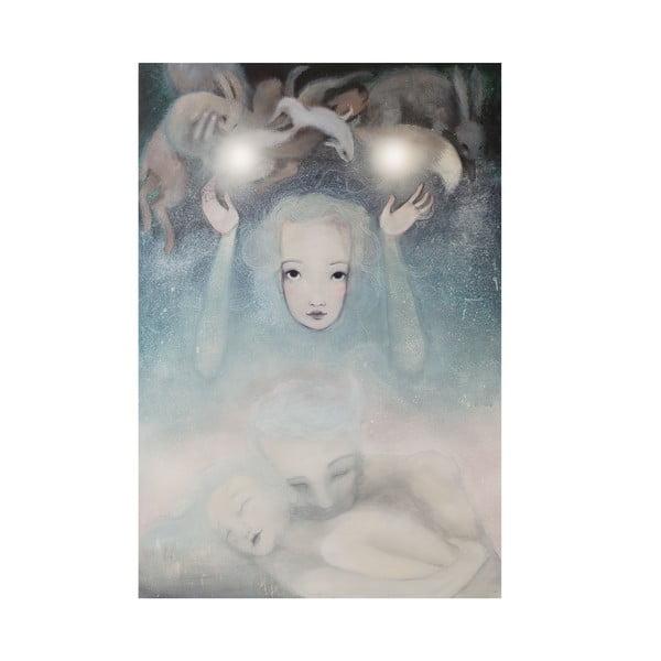 Autorski plakat Lény Brauner Podświadomość, 43x60 cm