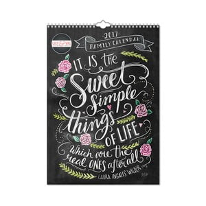 Kalendarz rodzinny A3 Portico Designs Lily & Val
