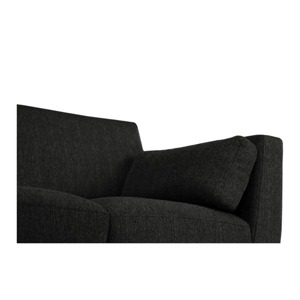 Czarny fotel Jalouse Maison Elisa