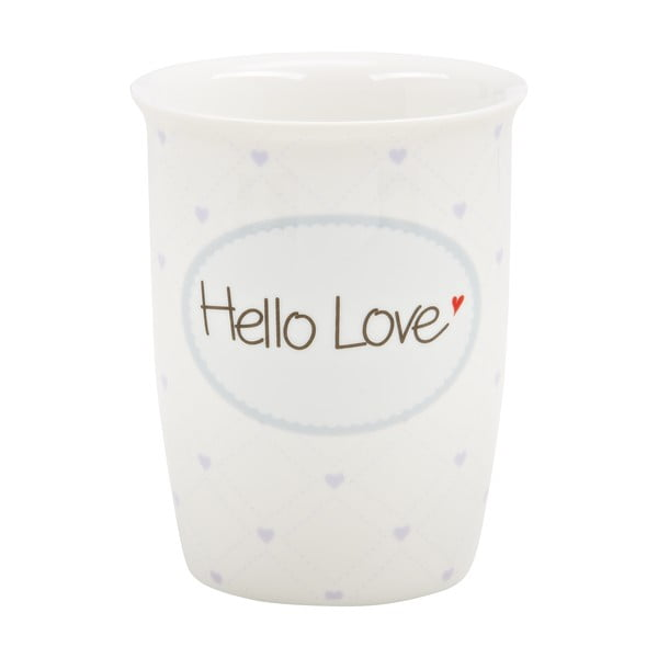 Mały kubek podróżny Hello Love