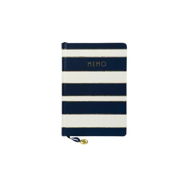Niebieski notes Tri-Coastal Design Navy Blush
