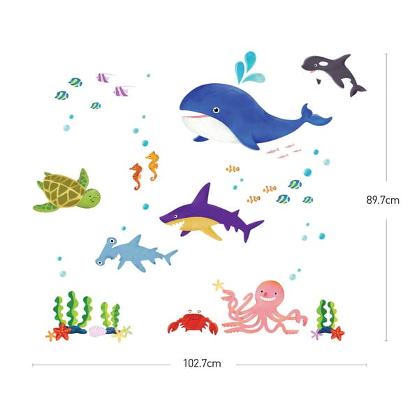 Naklejka Marine Animals
