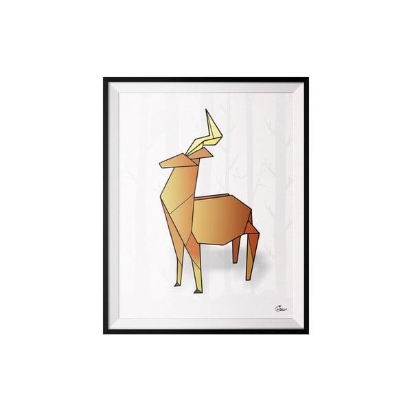 Plakat Deer, 30x40 cm
