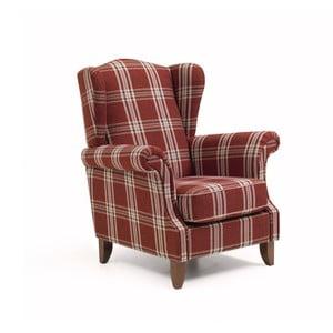 Czerwony fotel Max Winzer Verita