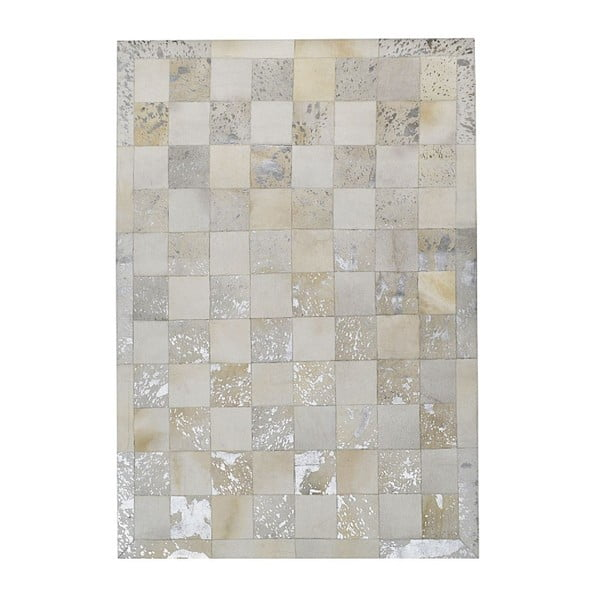 Dywan ze skóry naturalnej Padova Beige, 120x180 cm