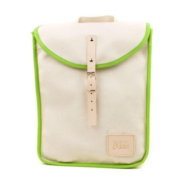 Plecak White Green Heap