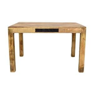 Stół z litego drewna mango Massive Home Bella, 90x120cm