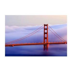 Obraz na szkle San Francisco, 40x60 cm