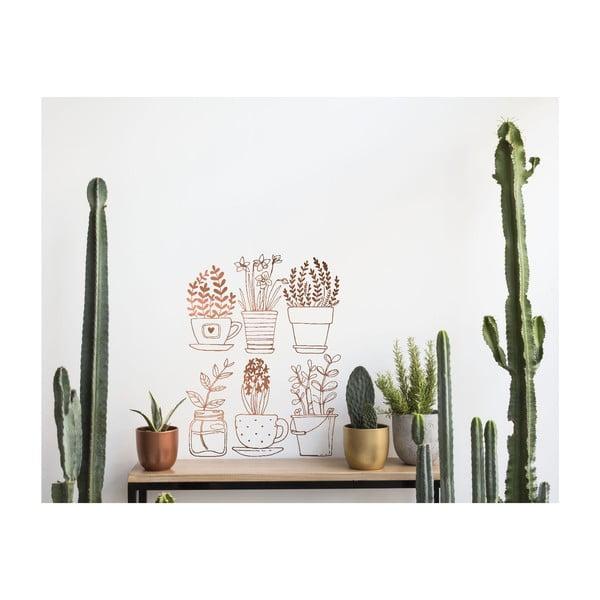 Naklejka naścienna Plants