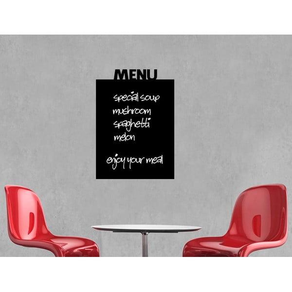 Dekoracyjna tablica samoprzylepna Menu