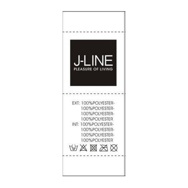 Ciemnoszara poduszek wyszywana cekinami J-Line Sequin, 40x40 cm