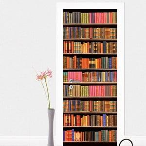 Naklejka na drzwi Library