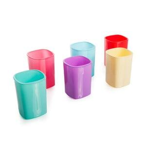 Zestaw 6 kolorowych szklanek Mezzo Taksim, 50 ml