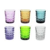 Zestaw 6 kolorowych szklanek Villa d'Este Fiji-Rio, 350 ml