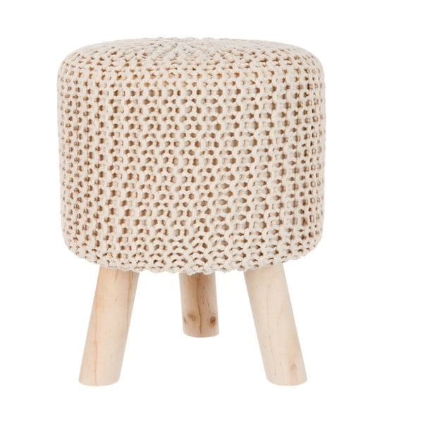 Taboret Knitted Cream