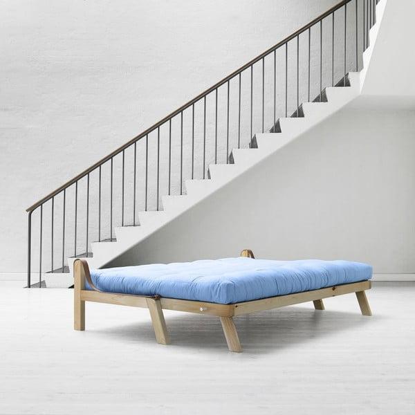 Sofa rozkładana Karup Poetry Clear Iacquered/Celeste/Gris