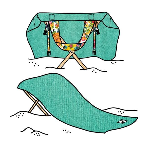 Leżak i ręcznik plażowy w jednym Sun Seat Water Jungle