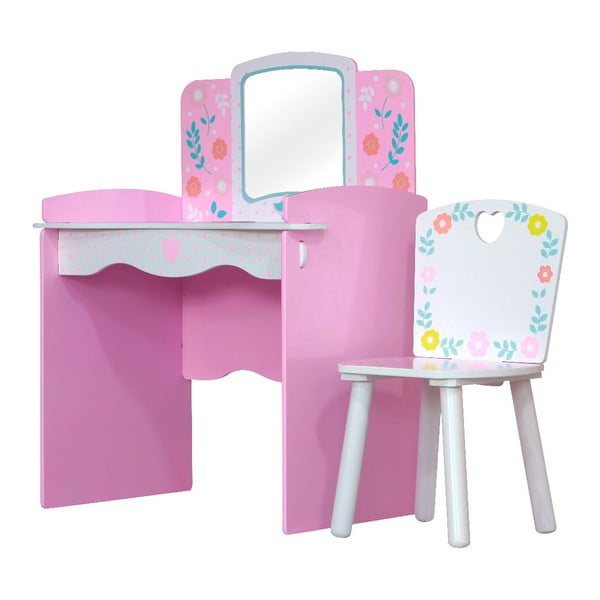 Dziecięcy stolik z krzesłem Country Cottage