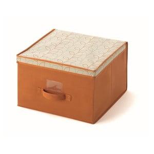 Pomarańczowe pudełko Cosatto Bloom, szer.40cm