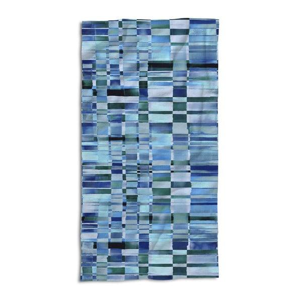Ręcznik Essenza Dali Blue, 100x180 cm