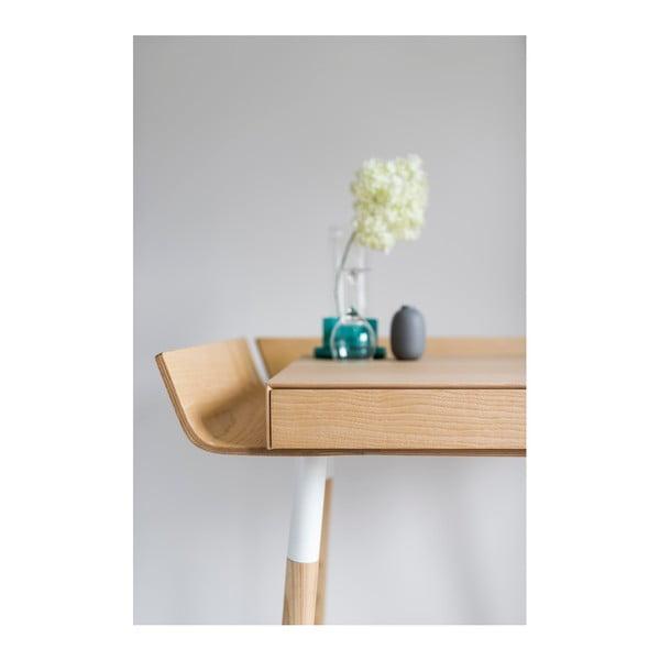 Naturalne  biurko z 1 szufladą EMKO My Writing