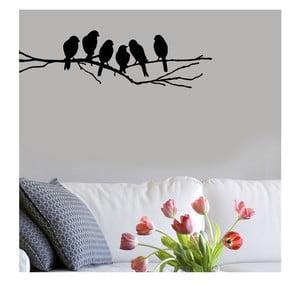Naklejka winylowa naścienna Ptasie Zebranie