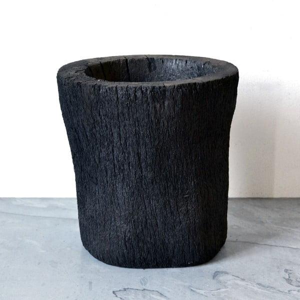 Wypalana palmowa doniczka Burned