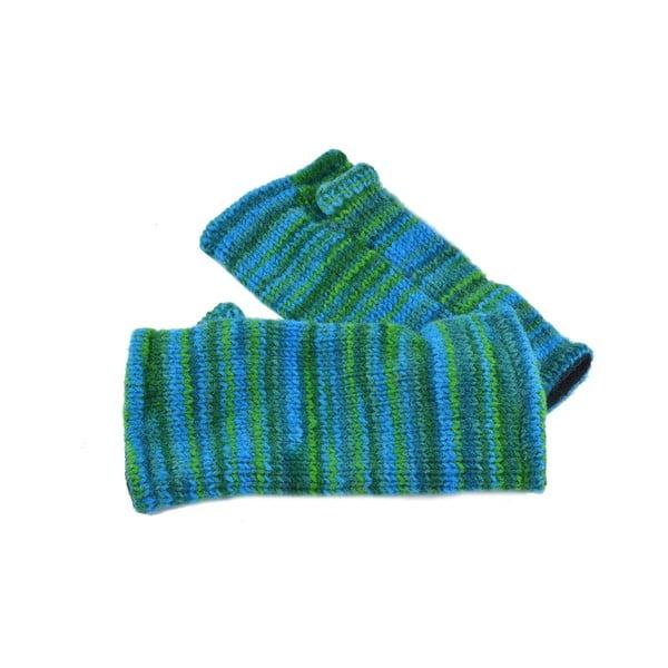 Rękawiczki bez palców Spacedye Tyrkys