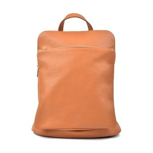 Karmelowa plecak skórzany Isabella Rhea Turo