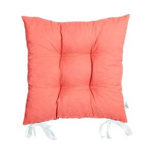 Poduszka na krzesło Carli, koralowa