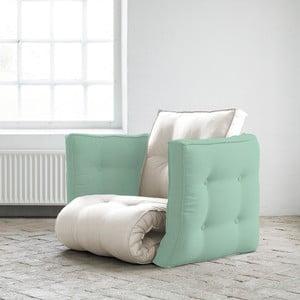 Fotel rozkładany Karup Dice Vision/Peppermint