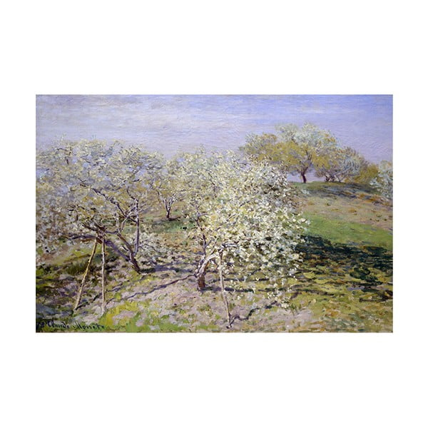 Reprodukcja obrazu Claude'a Moneta – Spring, 90x60 cm